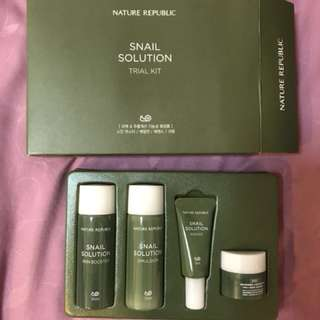 Nature Republic Snail Solution Trial Kit