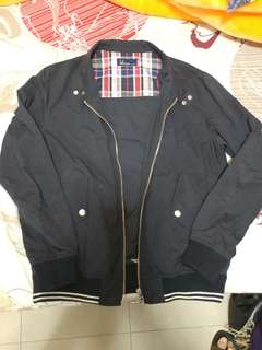 Fred Perry Navy 深藍色外套 Size JP XS