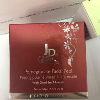 Jericho Pomegranate Facial Peel with Stimulating Seaweed Soap