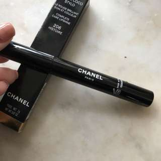Chanel rouge coco stylo 206