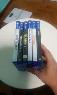 PS4 games 7 for $200
