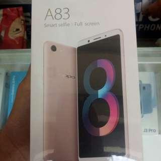 Oppo A83 Face unlock dan Full display cicil proses 3 menit aja langsung bawa pulang