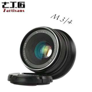 7artisans 25mm F1.8 Manual Focus Prime Fixed Lens for Olympus and Panasonic Micro Four Thirds MFT M4/3 Cameras