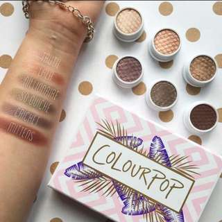 Colourpop Mile High Super Shock Eyeshadow (6 shadows)