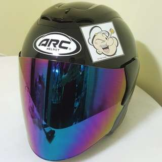 0403***ARC Ritz Helmet For Sale 😁😁Thanks To All My Buyer Support 🐇🐇 Yamaha, Honda, Suzuki