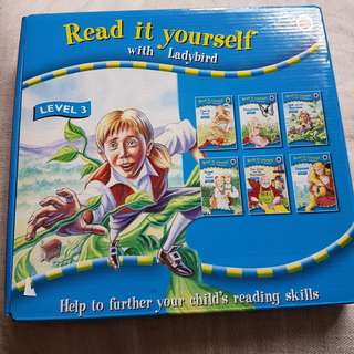 Ladybird read it yourself box set