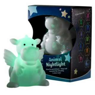 2.Celeste & Moon Animal Nightlight (Dragon)