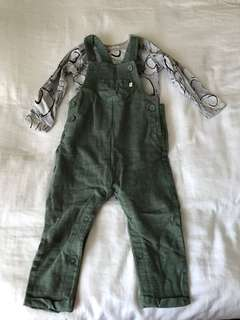 Next baby overall set