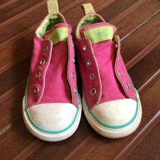 Original Converse girl sneakers pink