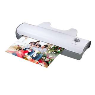 Bonsaii L307-A A3 Document Photo Thermal Laminator, Quick 3-5 mins Warm-up, Laminates Items up to 13 Inches Wide, High Laminating Speed, Jam-Release Switch