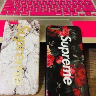 Supreme Iphone6 plus case bundle