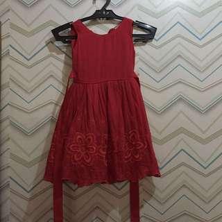 Kid's dress (Red)