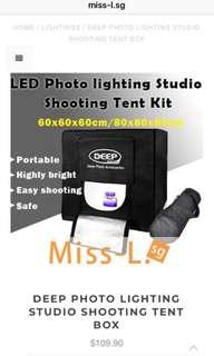 🐾 DEEP PHOTO LIGHTING STUDIO SHOOTING TENT BOX