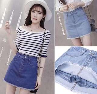 < 3 days Flash sales> Denim Skirt