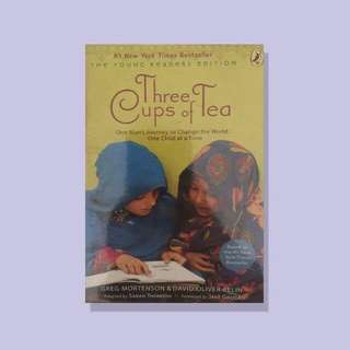 Three Cups of Tea by Greg Mortenson by David Relin