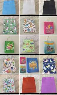 Goodies bag - art and craft paper bag, party paper carrier