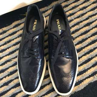 Prada oxford 鞋 size38.5