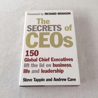 Forward by Richard Branson - The Secrets of CEOs