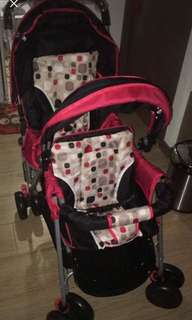 Bello double stroller