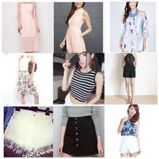APPARELS FOR SALE