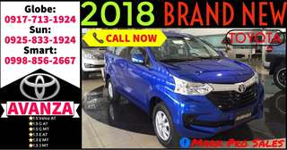2018 Toyota Avanza G E and J AT or MT
