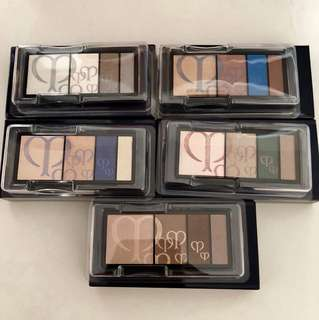Cpb cle de peau 四色眼影 eye shadow