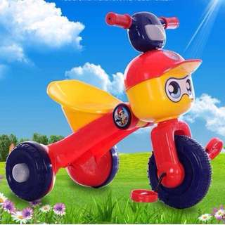 Foldable 3 Wheels Toddler Lego Bike Tricycle with Lights!