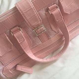 Baby pink JLO bag