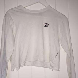 Fila long sleeve crop