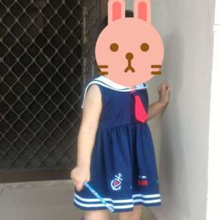 Sailor dress made in Thailand