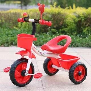 Red 3 Wheel Bike for Toddlers