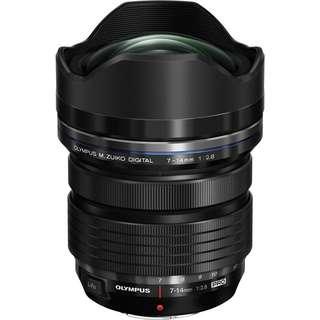 BNIB Olympus 7-14mm f2.8 Lens
