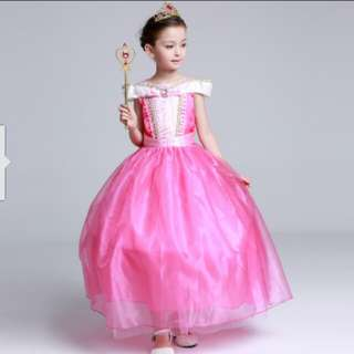 Princess Dress/frozen dress/Aurora dress