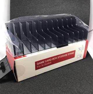 Nintendo Game Card Box Storage Rack