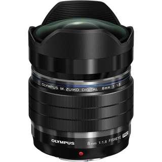 BNIB Olympus 8mm f1.8 Fisheye Lens