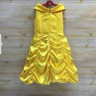 Yellow Dress/belle dress /frozen dress