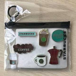 Authentic Starbucks pins set A (5 pins)