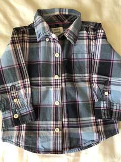Baby boys dress up shirt