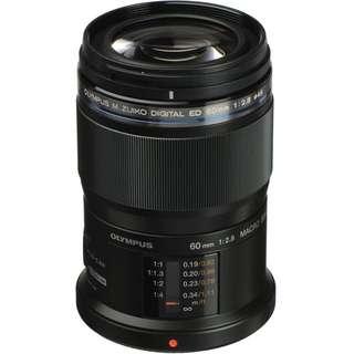 BNIB Olympus 60mm f2.8 Macro Lens