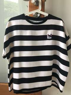 COTTONINK Black White Stripe BABBOT limited collection