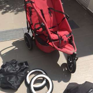 Phil & Teds Stroller - well used