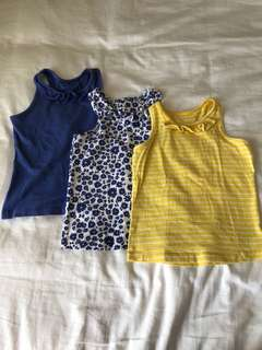 Mothercare Set 3 Girls Top