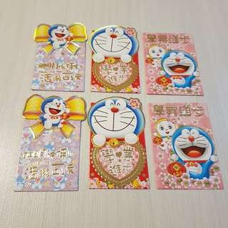 Doraemon Angbao Red packets
