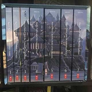 Harry Potter book set 1-7