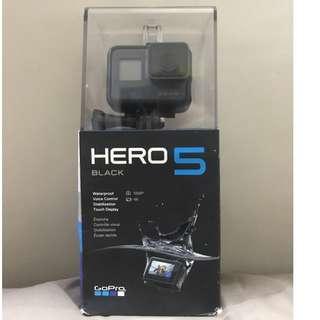 GoPro Hero 5 Black Bnew