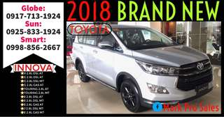 2018 Toyota Innova V G E and J MT or AT