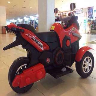 Kids Red Motorcycle Big Bike Toy Car Rechargeable