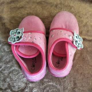 Baby winter velvet sponge shoes from Spain