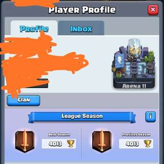 [SELLING CHEAP!!] CLASH ROYALE ACCOUNT