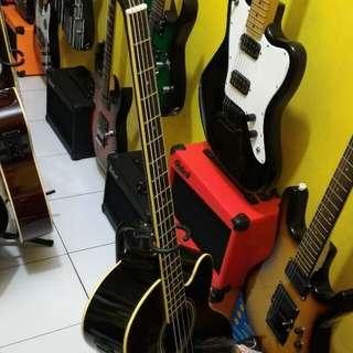 Bass akuatik elektrik ibanez new